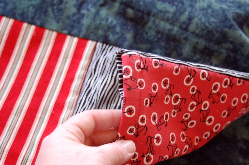 pockets on both sides - ready to stuff