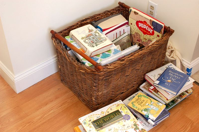 our library basket