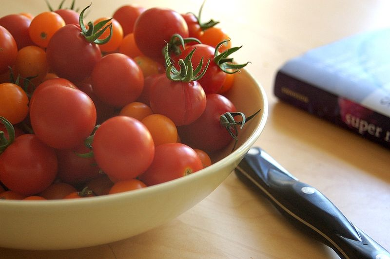 using summer tomatoes