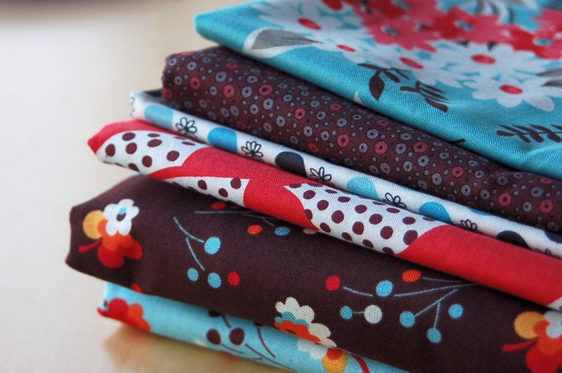 Fabric in the mail